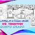 EXAMEN en formato editable DE QUINTO GRADO, CORRESPONDIENTE AL PRIMER TRIMESTRE, CICLO ESCOLAR 2019-2020.