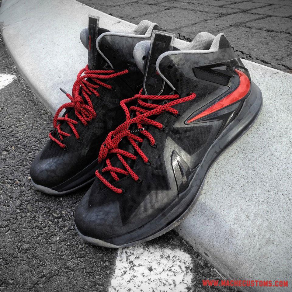 new styles 596ad 4cfd1 Custom Kicks  Nike LeBron X PS Elite