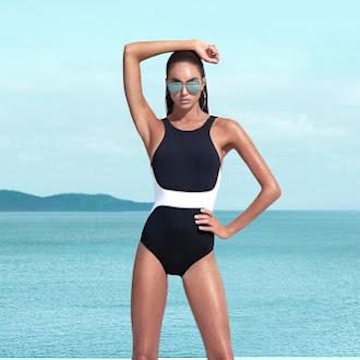 Womens Summer Beachwear Fashion Bikinis, Swimwear and One Piece Swimsuits #summer #beachwear #fashion #bikini #swimwear #swimsuit