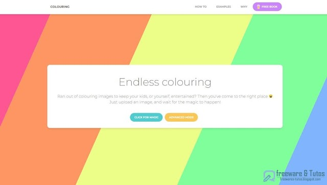 2 sites gratuits pour créer facilement des coloriages pour les enfants à partir de vos images