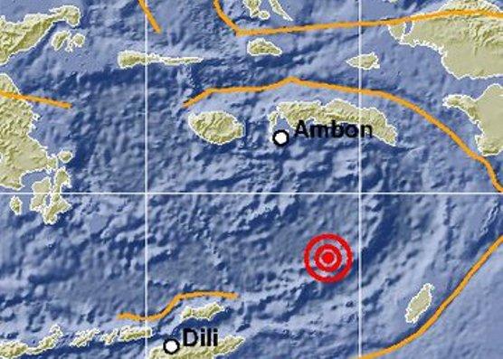 Gempa 7,7 SR, Guncang Maluku, Tidak Berpotensi Tsunami