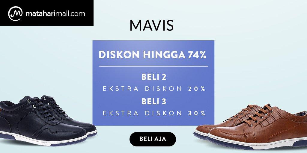 MatahariMall - Promo Produk MAVIS Dapatkan Diskon s.d 74% & Ekstra s.d 30%