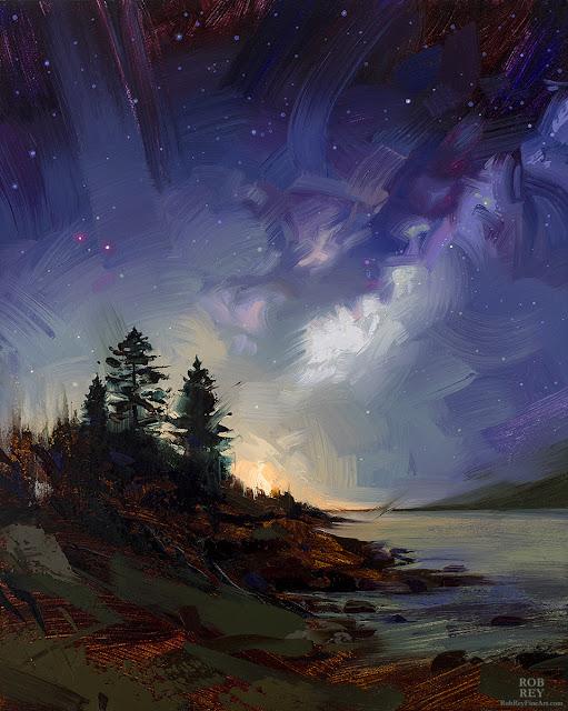 Starswept by Rob Rey - robreyfineart.com