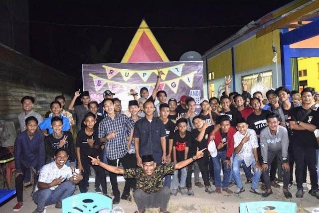Pererat Silaturahm,  BMC Rangkul Puluhan Komunitas se-Pulau Rupat Dengan TagLine Rupat Berbagi
