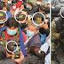 Escoltas de Evo llevan uniformes de una fuerza especial de seguridad venezolana