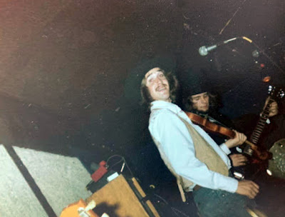 Molly Cribb band on stage at The Filling Station Saloon... Wallington, New Jersey 1977/1978
