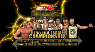 TNA Genesis 2009 - TNA Tag Titles - Jay Lethal & Consequences Creed vs. Matt Morgan & Abyss vs. Beer Money