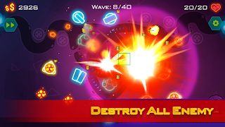 Tower Defense: Geometry War Mod Apk v1.2.3 (Unlimited Money)