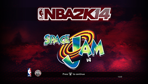 Space Jam Mod for NBA 2K14 PC