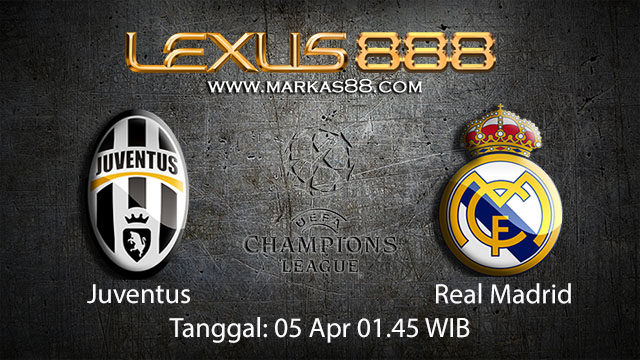 BOLA88 - PREDIKSI TARUHAN BOLA JUVENTUS VS REAL MADRID 05 APRIL 2018 ( UEFA CHAMPIONS LEAGUE )