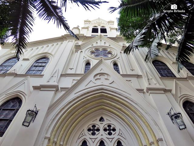 Vista da fachada da Catedral Evangélica de São Paulo -1ª Igreja Presbiteriana Independente de São Paulo - Consolação