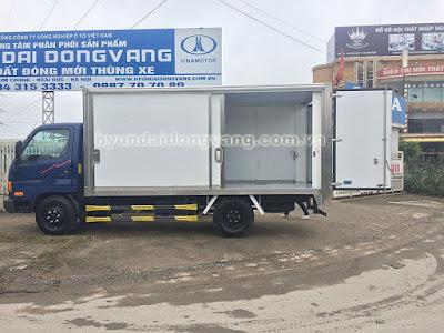 Hyundai hd600 thùng kín cửa lùa