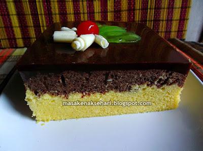 Resep Bolu Kukus Lembut Lapis Puding Coklat