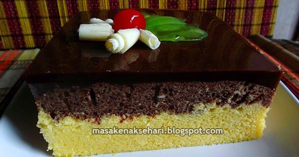 Resep Cake Kukus Keju Coklat: Resep Bolu Kukus Lembut Lapis Puding Coklat