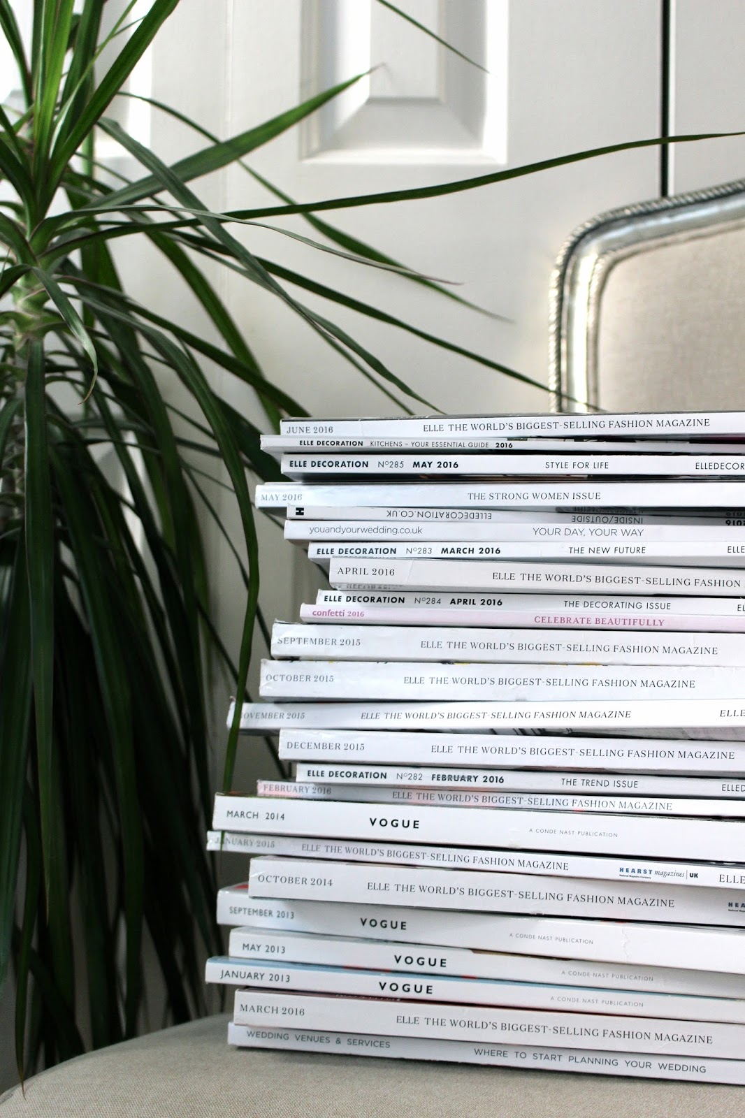stack of magazines blog photography
