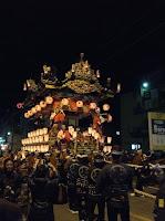 Chichibu Festival first night