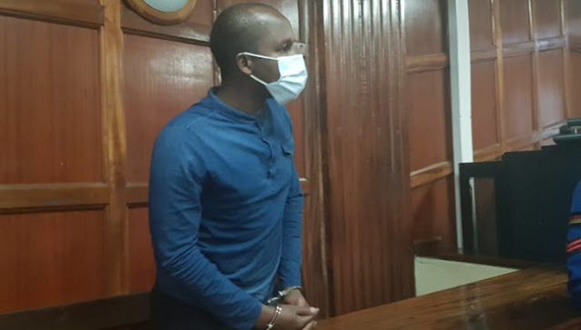 Ahmad Nassir Dirie Olow charged with using a false KCSE certificate on Tuesday, January 26, 2021.