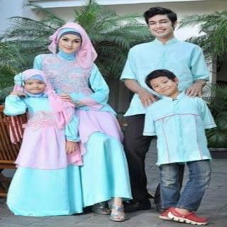 baju seragam lebaran untuk keluarga
