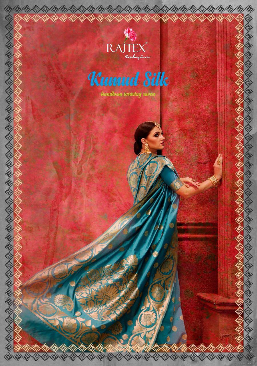 KUMUD SILK Handloom Weaving Sarees  collection