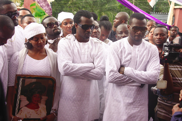 psquare twins mum funeral