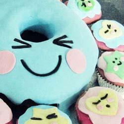 Kawaii Donut cake DIY