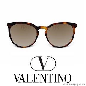 Princess Madeleine style Valentino sunglasses