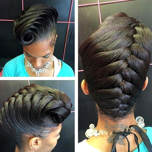 8 Easy Updo Hairstyles For Black Women | Hairstyles & Hair Color for ...