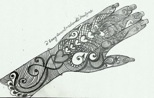 snail-heart-mehndi-design