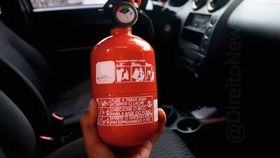 projeto extintor incendio item obrigatorio veiculos