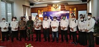 Wakil Gubernur Banten Hadiri Pelantikan SMSI Provinsi Banten