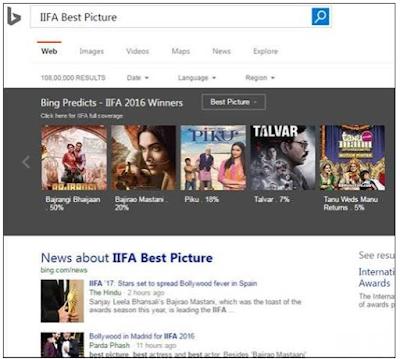 IIFA 2016 starts with a Bang with Bing and Qatar Airways