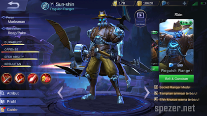 Panduan Cara Menggunakan Yi Sun-Shin Mobile Legends + Bulid Item Terbaik