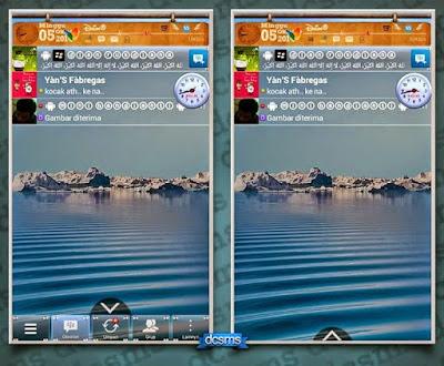 BBM Mod Transparan Auto Hide/Show Tab v2.4.0.11 APK