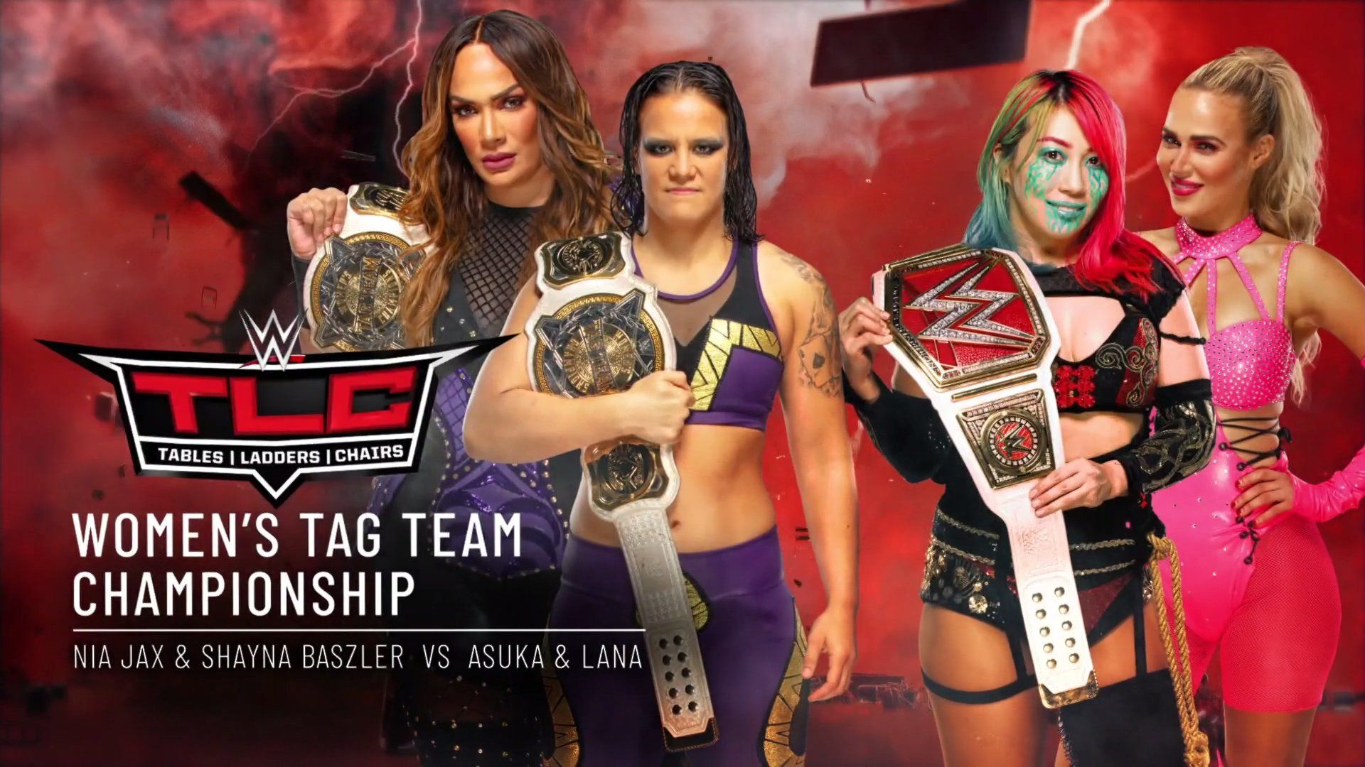 Novo combate por título é anunciado para o WWE TLC