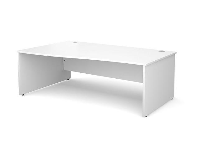 best buy cheap white office desk Argos for sale online