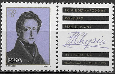 Poland , 1975 , Frederic Chopin