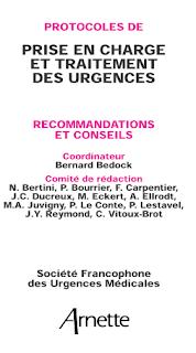 Protocoles De Prise En Charge Et Traitement Des Urgences Ssxsxsxsxs