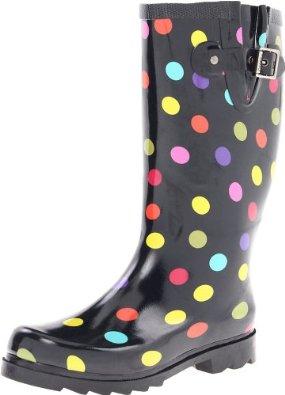 Boots Costume Pic Rain Boots Polka Dots