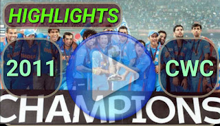 icc cricket world cup 2011 matches highlights online