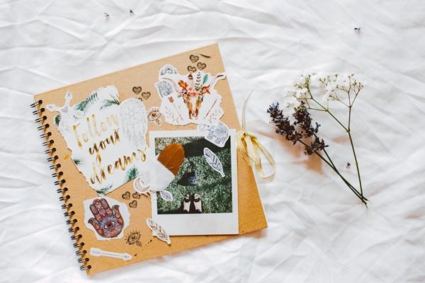 DIY Paper Bag Scrapbook, DIY Scrapbook, Lifestyle