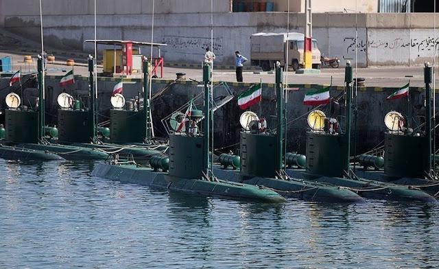 minisubmarinos de la Armada iraní de la clase Ghadir