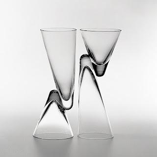 Paro bicchiere brocca vetro Achille Castiglioni Danese la storia delle grandi icone del Design