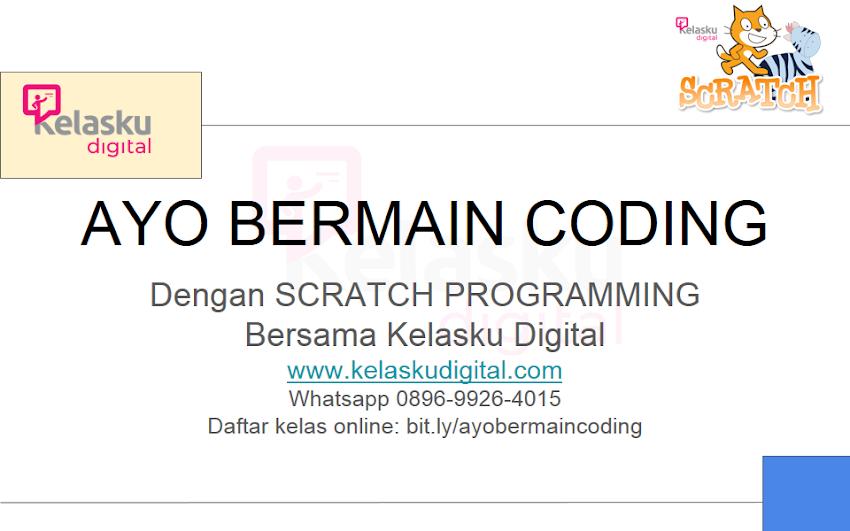 eBook Gratis Tutorial Scratch Programming Untuk Pemula