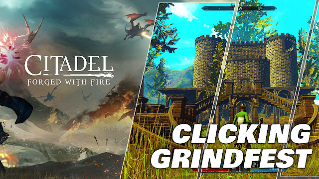 CLICKING GRINDFEST! Citadel: Forged With Fire!