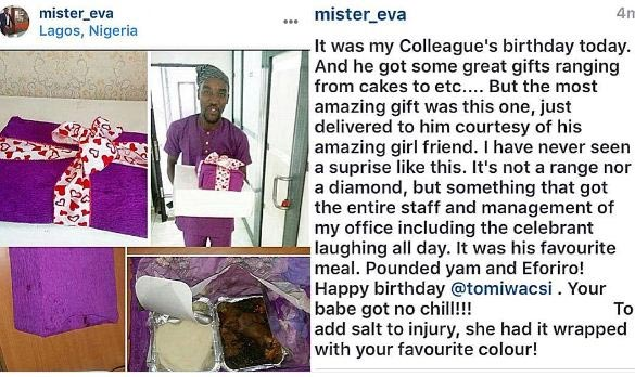 Check Out What A Lady Got Her Man For His Birthday