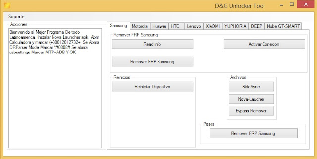 DG Unlocker FRP Tool full download