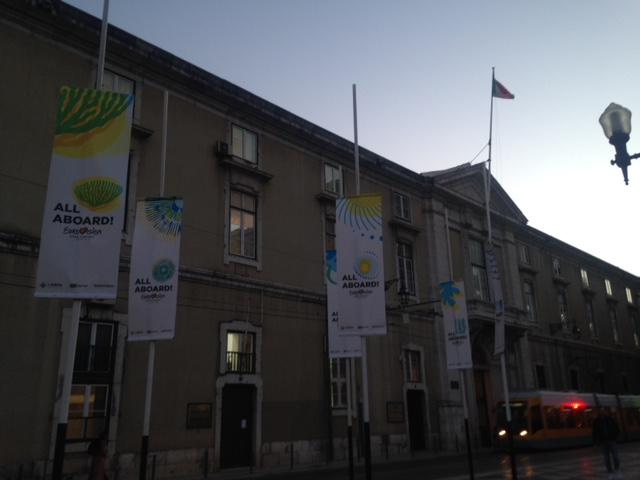 Lisboa a preparar-se para o Festival Eurovisão da Canção