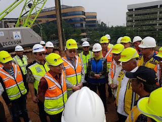 Pembangunan tol BSD City Tangerang