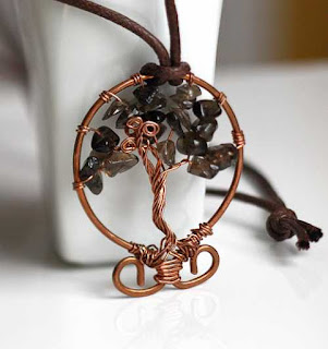 Tree of Life - Smoky Quartz & Copper