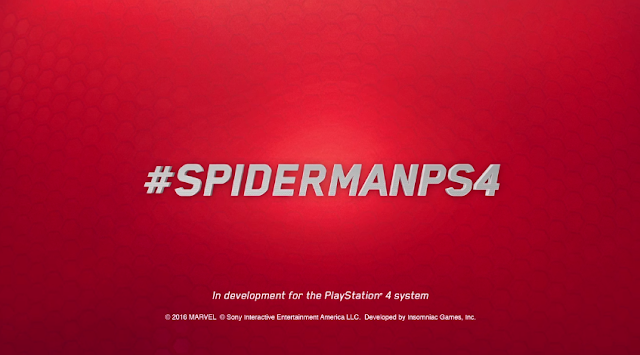 #SPIDERMANPS4 E3 2016 Spider-Man PS4 PlayStation 4 Insomniac Games hashtag